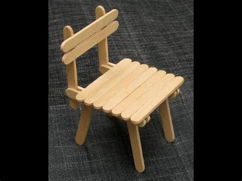 Pagar Kayu By Kenichi Craft diy popsicle stick chair craft for kid
