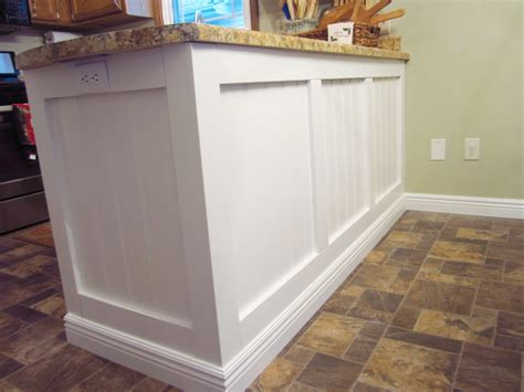 Update White Kitchen Cabinets by Add Character To A Kitchen Island Peninsula Diy Home