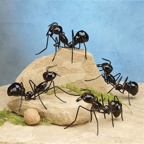 Metal Bugs Garden Decor Metal Ant Garden Decor Garden