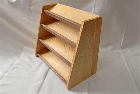 Handcrafted Creations - custom made spice rack by clark wood creations
