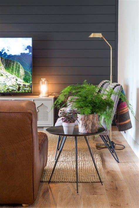 shiplap den dark grey shiplap looks modern den living room room