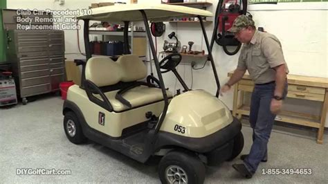Precedent Search How To Remove On Club Car Precedent Golf Cart Part 1
