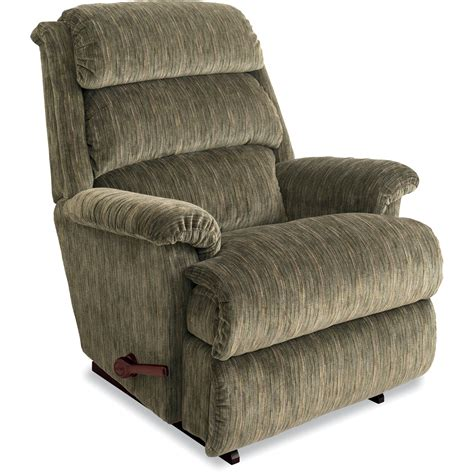 green recliner la z boy aston reclina rocker green
