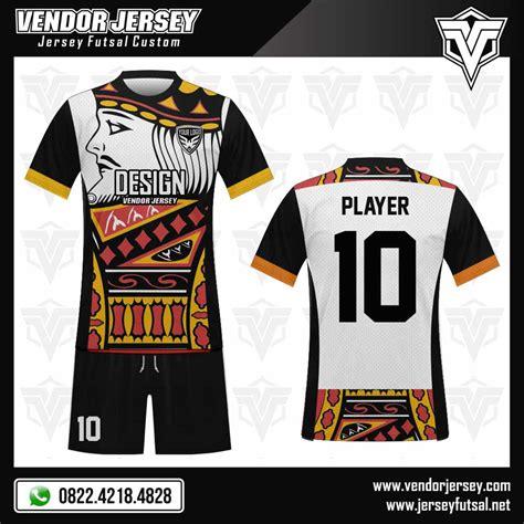 desain baju futsal makassar desain baju futsal king card vendor jersey futsal