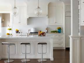 White Kitchen Island by Wonderful White Kitchens Jenna Burger