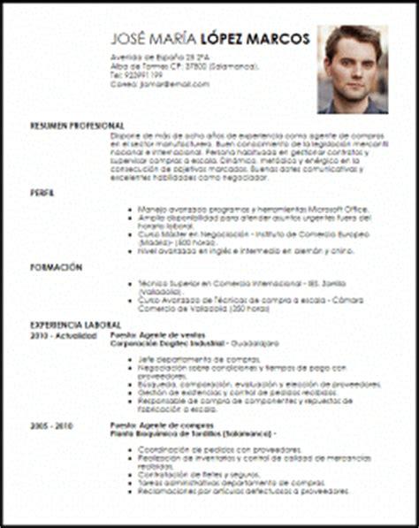 Modelo Curriculum Aleman Modelo Curriculum Vitae Agente De Compras Livecareer