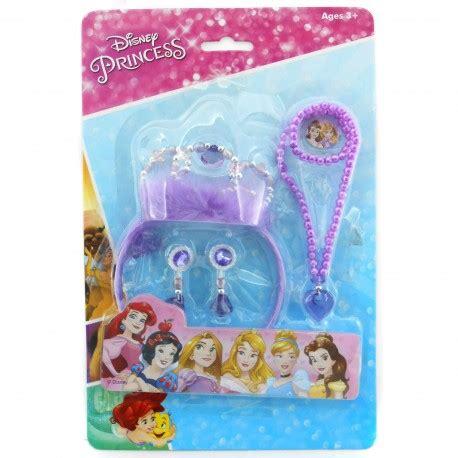 Set Kalung Anting Princess disney princess crown happy toko mainan