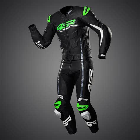 Motorrad Lederkombi Monster by 4sr Motorrad Lederkombi Rr Evo Iii Monster Green 2 Teiler