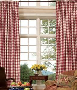 Buffalo Check Curtains » New Home Design