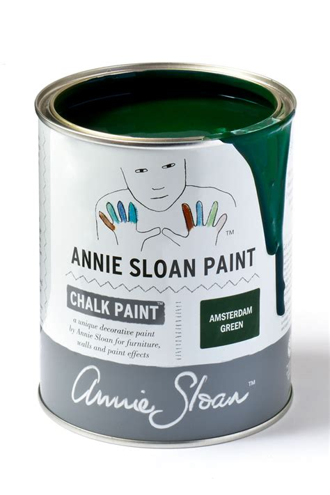Amsterdam Green Chalk Paint By Sloan 1 Litre Pot