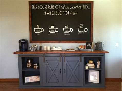 One Room Challenge Coffee Station Reveal Lemons Coffee Station Table
