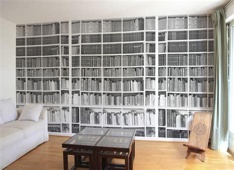Tapisserie Trompe L Oeil Bibliothèque by Cr 233 Ation Design Papier Peint Original D 233 Coration