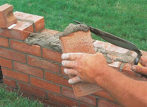 in mattoni muro di mattoni cemento e mattoni costruzione muri