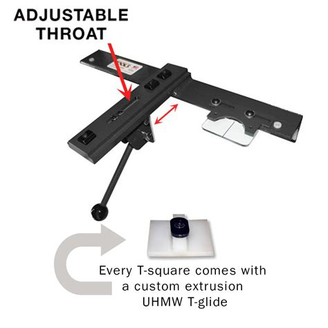 contractor table saw fence upgrade adjustable t square for cabinet saws bandsaws contractor
