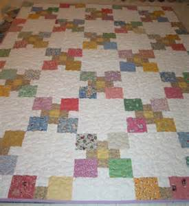 another scrap soup quilt in 1930s reproduction fabrics