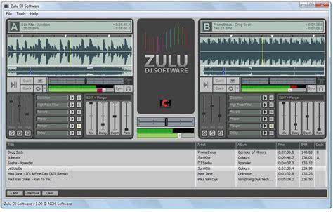 zulu dj software free download full version for mac zulu professional dj software download freeware de