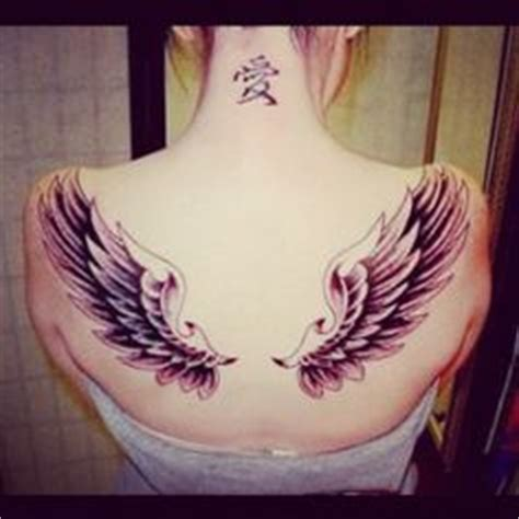 tattoos angel wings name middle 1000 images about tattoo ideas on pinterest angel wing