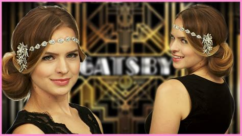 how do i do a 20s hairstyle for long hair easy great gatsby inspired halloween hair tutorial with