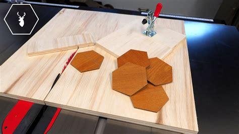 hexagon cutting jig youtube