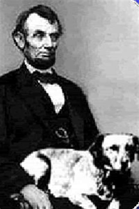 who did abraham lincoln run against the original fido for the of the