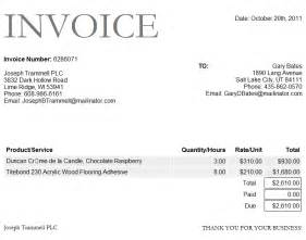 Free Invoice Template Microsoft by Free Microsoft Word Invoice Template Free Business Template