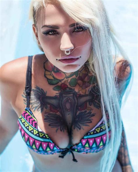 tattooed models models felisja piana from milan italy inkppl