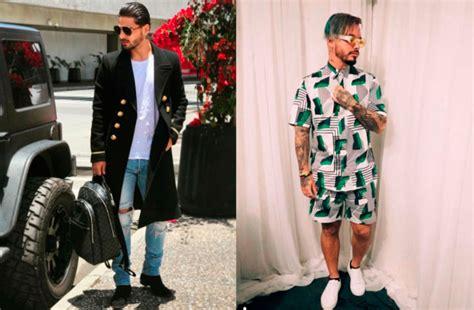j balvin ropa en fotos maluma y j balvin los nuevos 237 conos de la moda