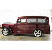 Custom 1946 Willys Overland Station Wagon  Aucton Results $61000