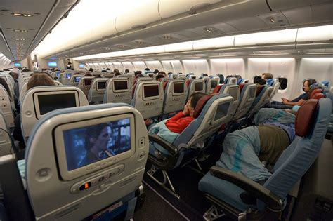 Turkish Airlines Interior inside the turkish airlines aircraft 2015