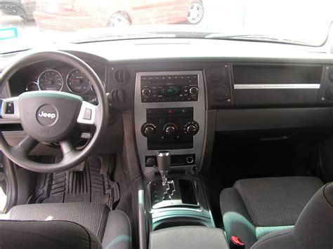 jeep commander inside 2008 jeep commander interior www imgkid com the image