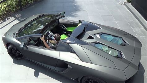 lamborghini aventador lp700 4 matte black matte black lamborghini aventador lp700 4 roadster start