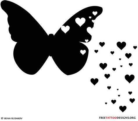 butterfly and heart tattoos best 25 black butterfly ideas on
