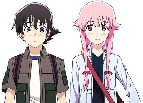 Anime Yuki by A Transparent Yuno And Yuki Walking On Your
