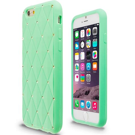 for apple iphone 6s 4 7 bling rhinestone silicone soft skin cover ebay