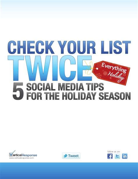 reunited for the holidays series 1 check your list 5 social media tips for the