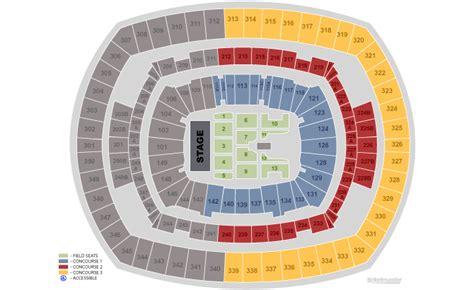 metlife stadium floor plan metlife stadium new meadowlands arena platinum vip tickets