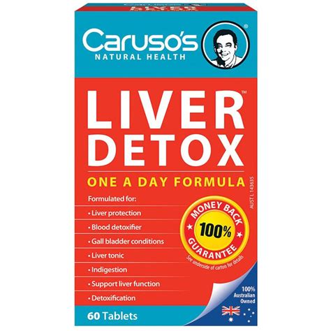 Cleanse 15 Day Detox Program By Caruso 39 by Buy Carusos Health Cleanse Liver Clear Detox