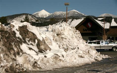 flagstaff snowfall king of the hill flagstaff atop snowfall total so far