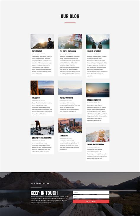 layout majalah travel stunning free divi layout pack for travel websites