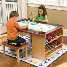 Kids Art Desk With Storage 1000 Ideas About Kids Art Table On Pinterest Big Coffee