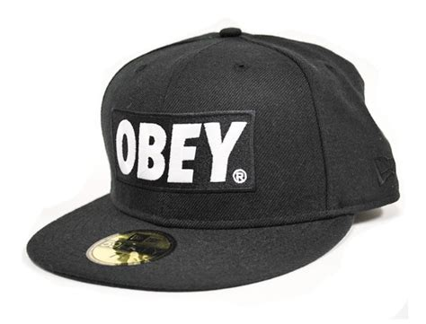 obey x new era 59fifty obey x new era classic material 59fifty fitted cap