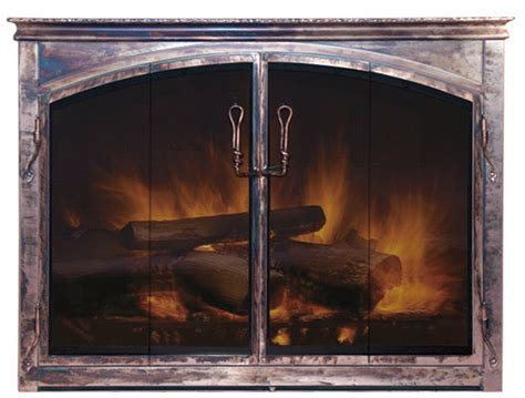Arch Fireplace Doors by Dracme Fireplace Doors And Accessories