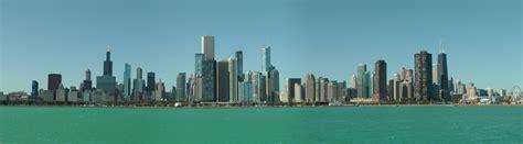 chicago skyline buildings identified city skylines damnthatsinteresting