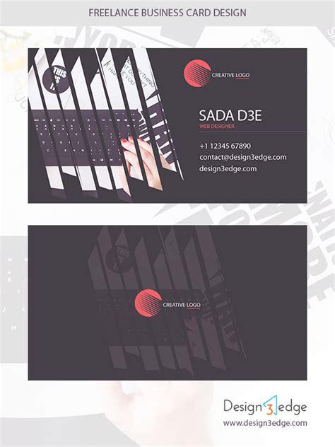 freelance business card template freelance business card design design3edge
