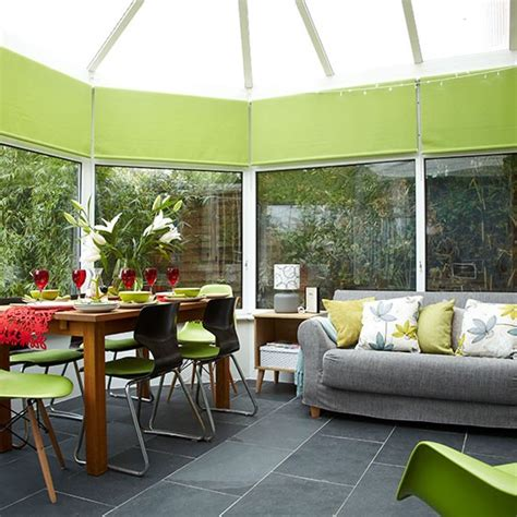How To Decorate Conservatory green conservatory ideas terrys fabrics s