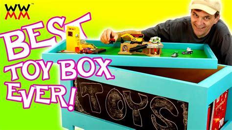 diy toy box super easy  build  plans youtube