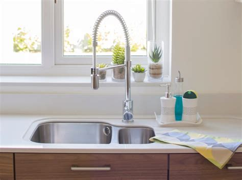 What To Look For In A Kitchen Sink Organized Pretty Kitchen Sink In Eight