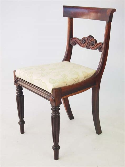 set  antique william iv rosewood dining chairs