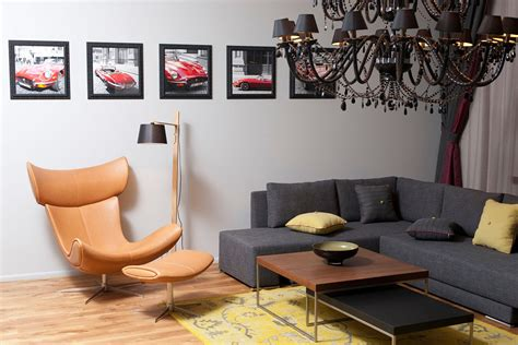 coffee table chair sofa studio apartment in riga by
