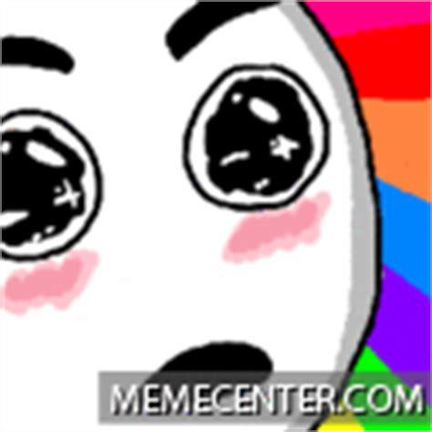 Rainbow Face Meme - rainbow face by hocox meme center